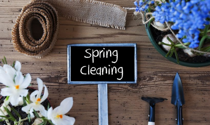 Our FAVORITE Time of Year- Spring Cleaning